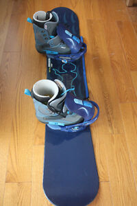 Snowboard with Boots Kingston Kingston Area image 2