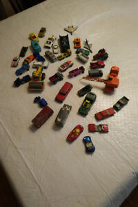 Assorted dinky cars