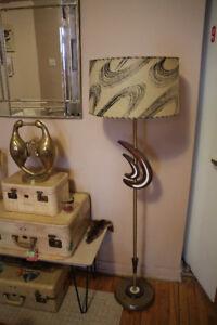 Lampe de plancher Mid-Century Moderne vintage