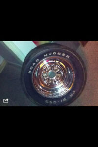 REDUCED old 5 bolt chevy wide rims $200obo