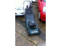 Hayter harrier 48 petrol mower,self drive,rear roller
