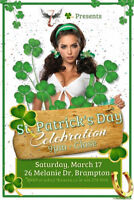 St. Patrick's Day Party @ 7th Heaven. Hottest Club in Town