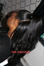 MOBILE HAIRDRESSER FOR AFRO-CARIBBEAN AND CAUCASIAN HAIR