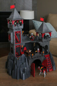 Playmobile - 3269 - chevaliers - Forteresse du dragon rouge