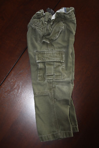 Baby GAP Army Green Cargo Pants
