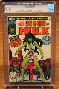 Savage She-Hulk #1 CGC 9.4 1st App and Origin of She-Hulk