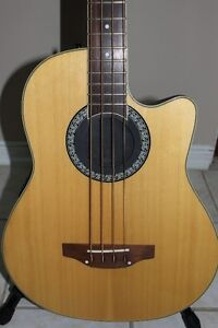 Ovation Acoustic Electric Bass Guitar with Case $350 OBO