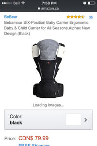 NEW Bebamour 6 in 1 Baby Carrier