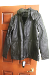 Men's jacket with removable hoodie for sale