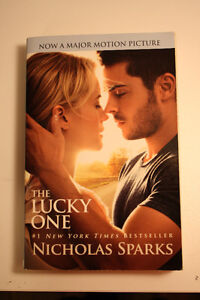 Nicholas Sparks - The Lucky One *Near perfect condition*