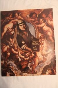 "1979 Monty Python's ""The Life of Brian"" book and poster"