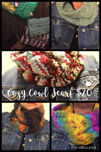 Warm & Cozy hats and scarves