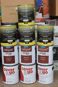 10 gallons of paint