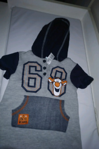 Tigger one piece suite 3/6 months!
