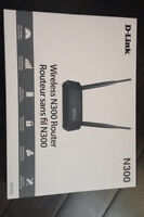 D-link N300 wireless router new still in box