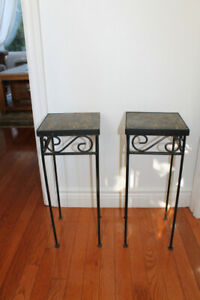 Flower Pot Stand/ Small Side Tables