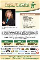 Registered Massage Therapist (RMT)  Midland, ON