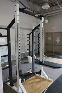 Exercise equipment- squats rack