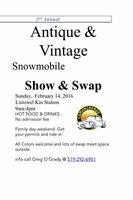 ANTIQUE & VINTAGE SNOWMOBILE SHOW & SWAP