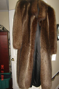 Fur coat, beaver, full length
