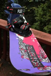 VINTAGE 1990 BURTON Free 6 Snow Board (VIEW OTHER ADS)