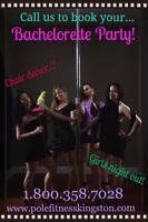 POLE DANCE Bachelorette Party in Downtown Kingston!!