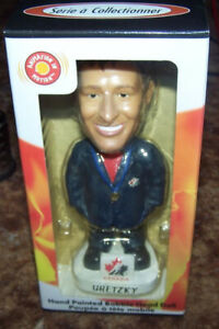 *BOBBLEHEADS TEAM CANADA 2002 GOLD HOCKEY GRETZKY LEMIEUX & MORE