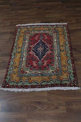 Beautiful S Antique Handmade Foyer Tabriz Persian Rug Oriental Area Carpet 3X5