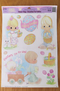 Precious Moments Easter Window Clings
