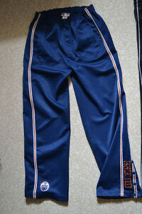 OILERS TRACK PANTS FOR TEEN BOYS