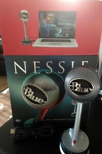 """""""Nessie"""" USB Recoring Mic by Blue Microphones"""