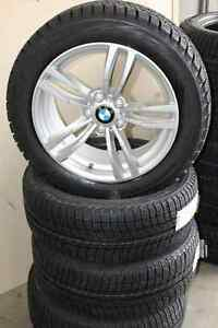 Set of NEW rims and winter tires BMW 5xx