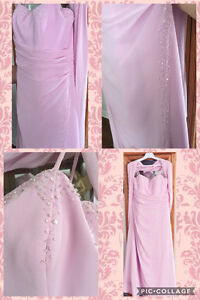 Formal gown.