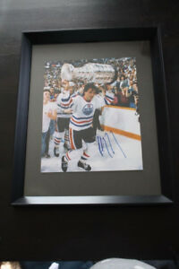 Paul Coffey Signed and Framed 8x10 Picture
