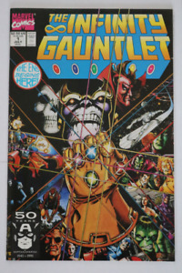Marvel Comics Infinity Gauntlet #1 Thanos! comic book