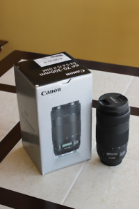 CANON EF 70-300MM F/4-5.6 IS II USM (Like brand new)