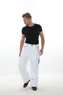 XL Mens Ski / Snowboard Pants PERYSHER PERFORMANCE [Stylish White] Best