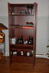 armoire/computer work station