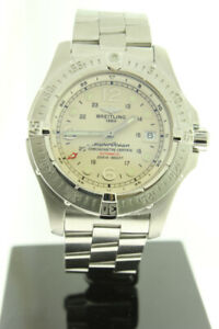 BREITLING SUPEROCEAN STEELFISH AUTOMATIC STEEL 44MM A17390