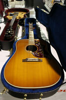 NEW GIBSON HUMMING BIRD ACOUSTIC GUITAR - BANKRUPTCY SALE
