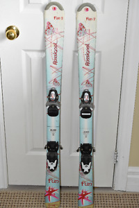 Rossignol Girls Junior Skis , (Fun 2), & Bindings