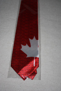 Canada Day Men's Tie New
