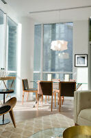 Furnished 1B+D Suites - Available Immediately
