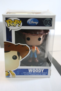 Funko POP! Disney Toy Story WOODY #03 Vinyl Bobble-Head Figure V