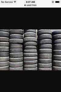 Vente de pneu usager