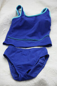 Size 8 Christina 2-piece tankini mastectomy swimsuit