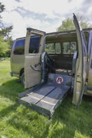 Handicap converted Chev Express Van - price reduced to $7900