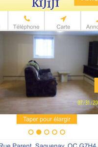 Chambre à 2 pas du cégep de Chicoutimi Saguenay Saguenay-Lac-Saint-Jean image 3