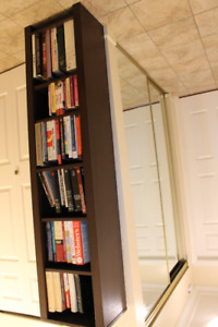 2 EQ3 Solid Wood Bookcases