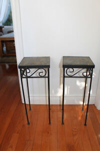 Flower Pot Stands/Side Tables